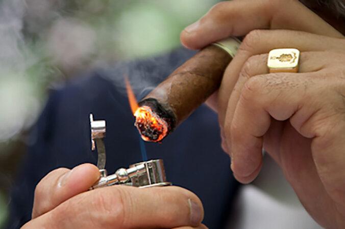 Fumatorii de trabuc